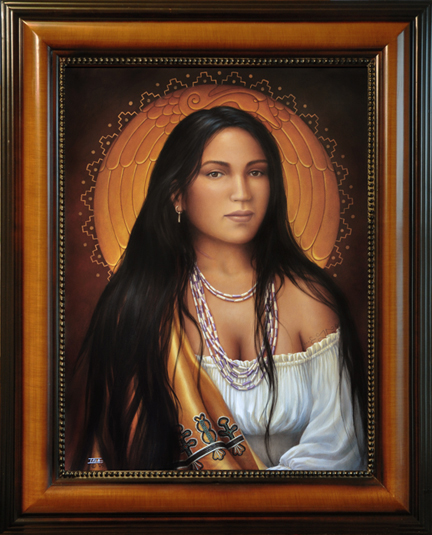 Beloved Woman Of The Cherokee - Nanyehi By Sharon Irla