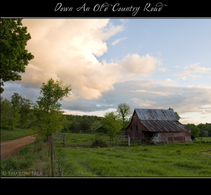 Down An Old Country Road by Sharon Irla