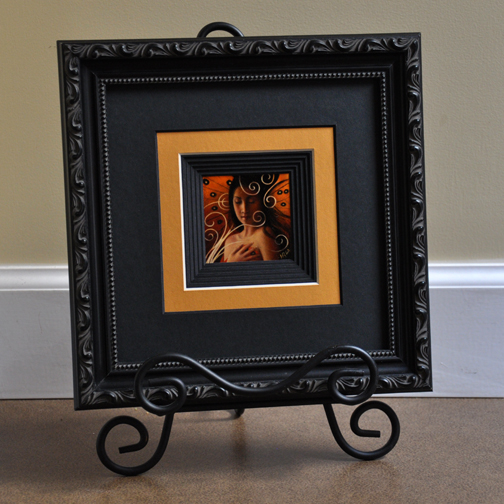 Dream Of Beauty By Sharon Irla Framed and Matted